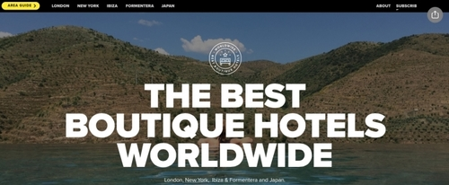 View Information about The Best Boutique Hotels Worldwide
