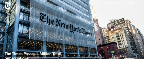 View Information about The New York Times Company