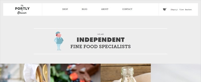 View Information about The Portly Grocer