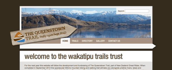 View Information about The Queenstown Trail