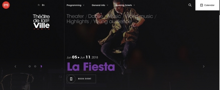 View Information about Theatre de la Ville