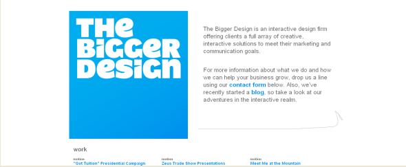 Go To The Bigger Design
