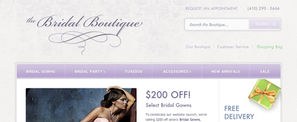 View Information about The Bridal Boutique