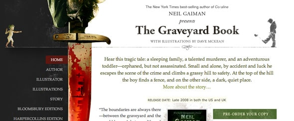 View Information about Graveyard Book