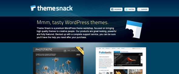 View Information about Theme Snack
