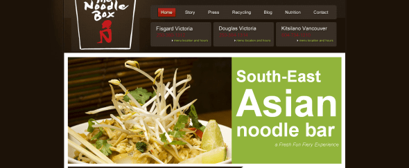 View Information about The Noodle Box