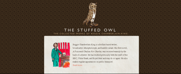 View Information about The Stuffed Owl