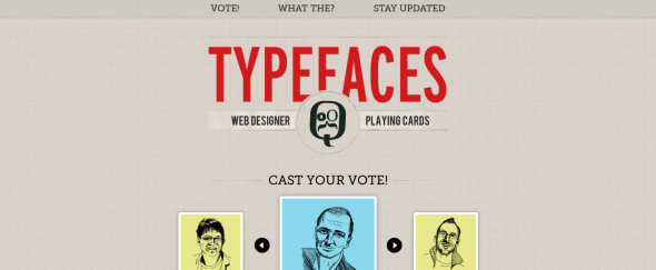 View Information about Type Faces