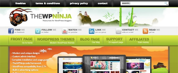 View Information about WP Ninja