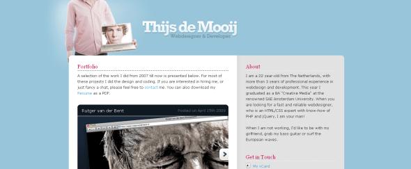 View Information about Thijs De Mooij