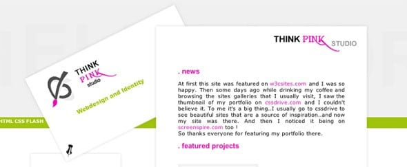 View Information about Think Pink Studio