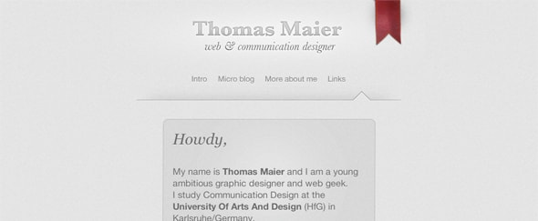 View Information about Thomas Maier