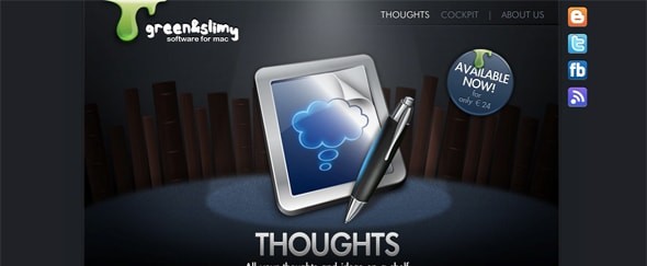 View Information about Thoughts App