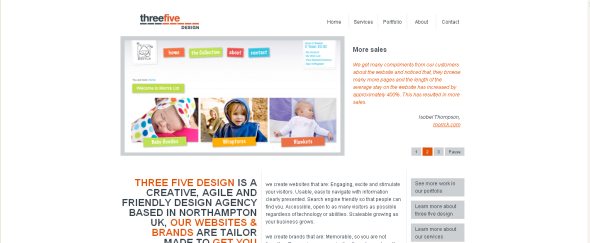 View Information about Three Five Design