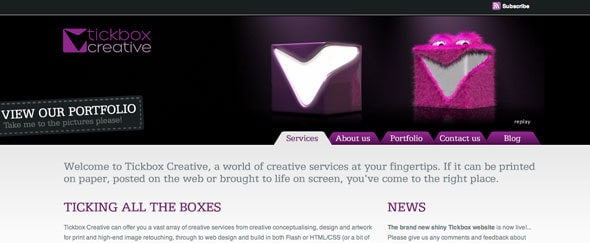 View Information about Tickbox Creative
