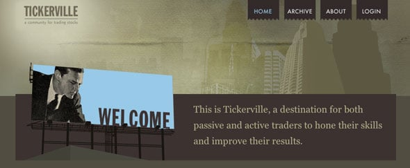 View Information about Tickerville