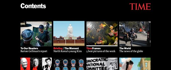 Go To Time Magazine for iPad