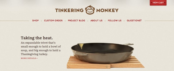 View Information about Tinkering Monkey