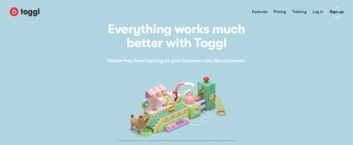 View Information about Toggl