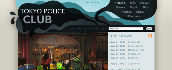 View Information about Tokyo Police Club