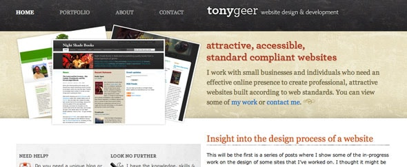 View Information about Tonygeer