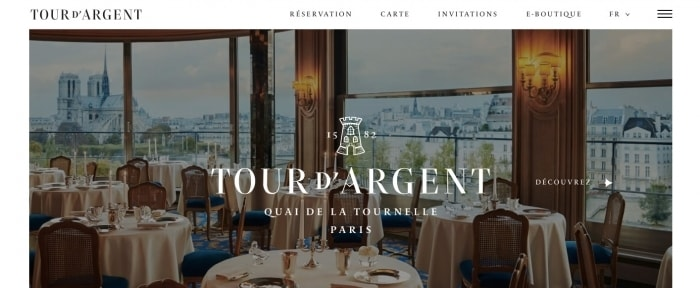View Information about Tour d\'Argent