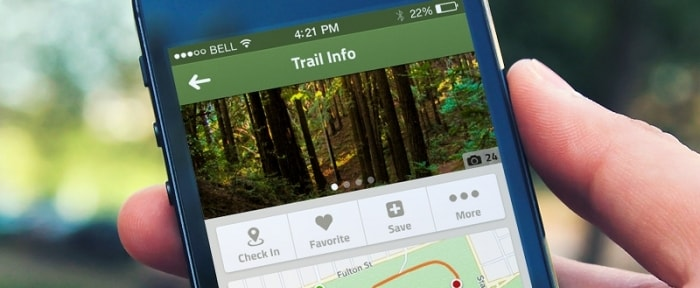 View Information about Trail App