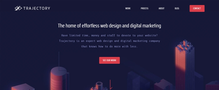 View Information about Trajectory Web Design