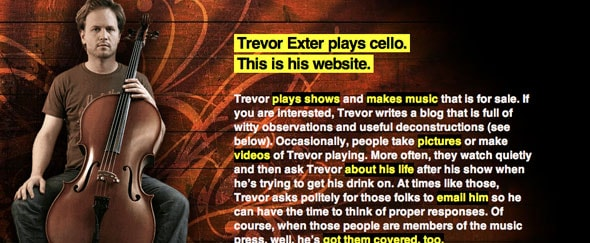 View Information about Trevor Exter