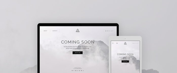 View Information about Triada — Coming Soon WP Plugin