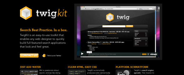 View Information about TwigKit