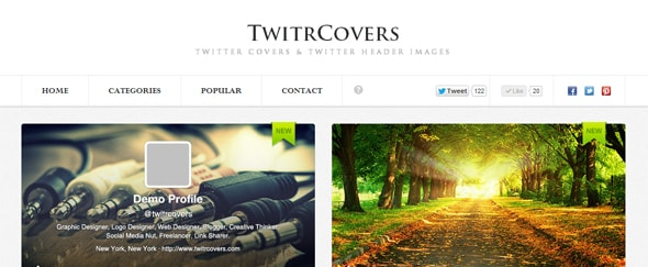 View Information about Twitr Covers