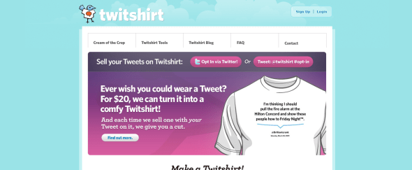 View Information about Twitshirt