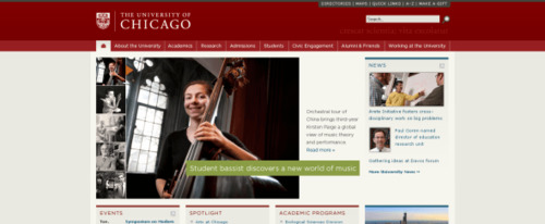 View Information about The University of Chicago