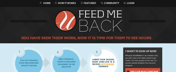 View Information about UFeedMeBack