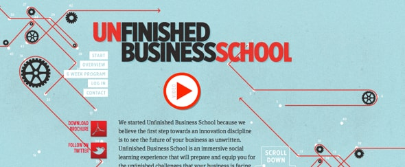 Go To Unfinished Business School