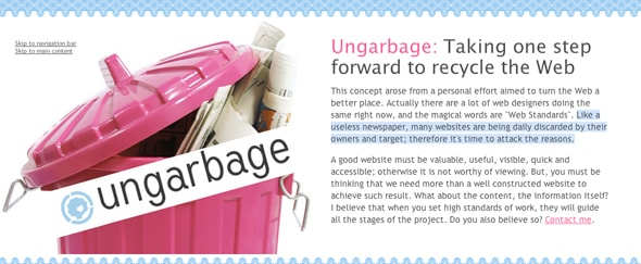 View Information about Ungarbage
