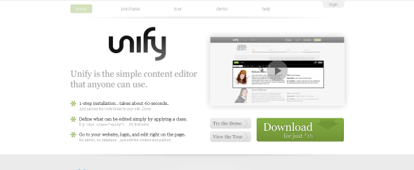 View Information about Unify