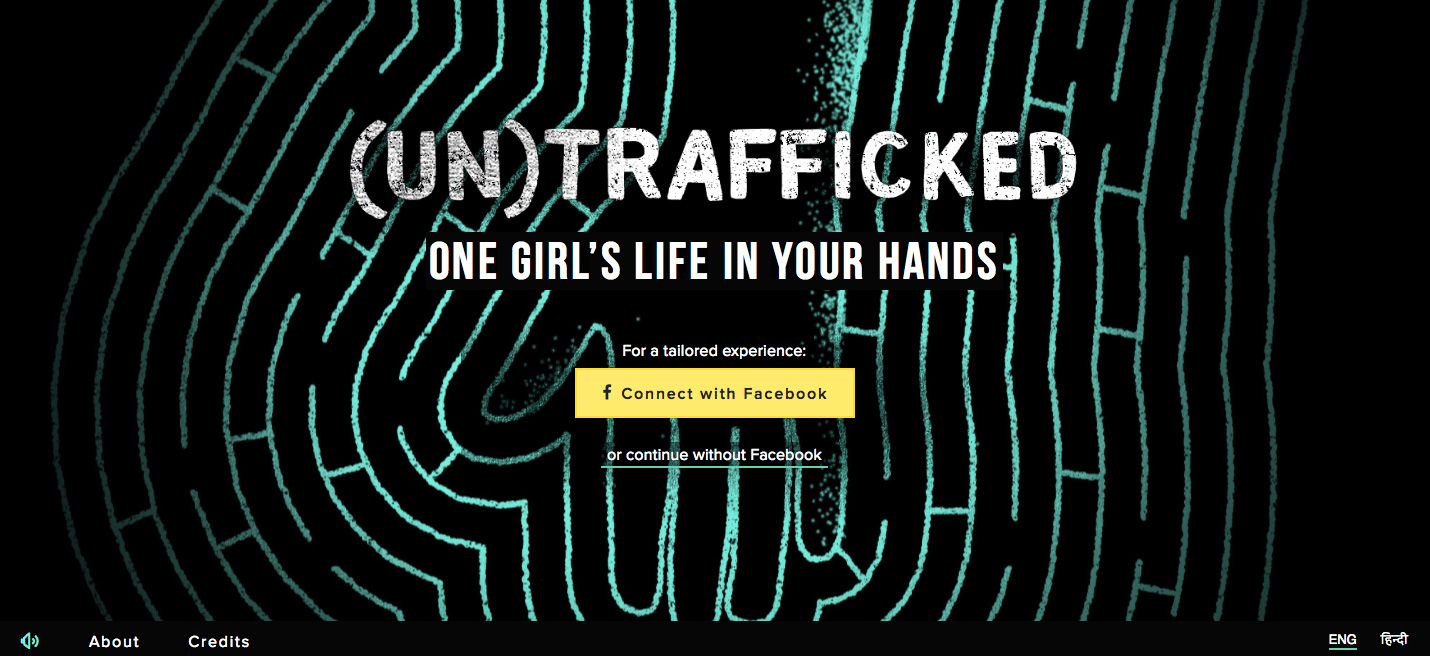 Go To UNTRAFFICKED