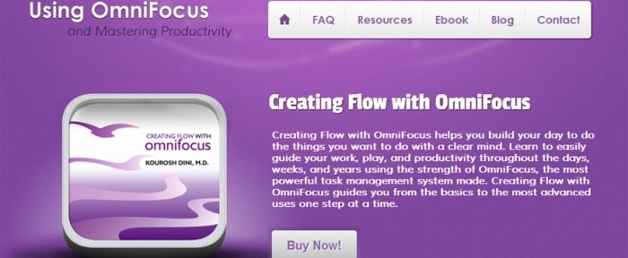 View Information about Using OmniFocus