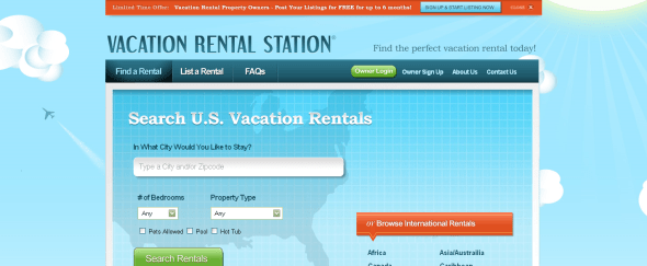 View Information about Vacation Rental Station