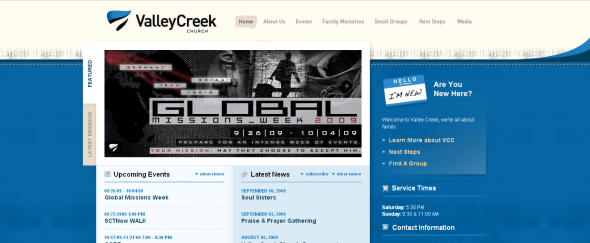 View Information about Valley Creek