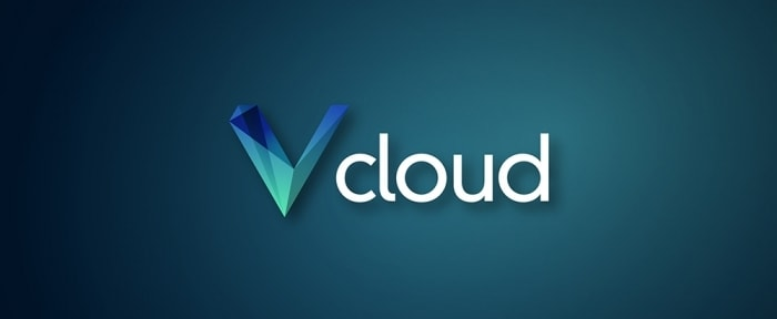 View Information about Vcloud solutions logo deisgn