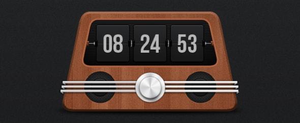 Vintage Clock Radio Design Shack