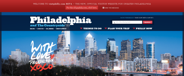 View Information about Visit Philadelphia