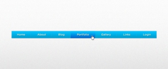 Go To Vivid Menu Navigation PSD