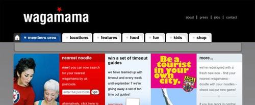 View Information about Wagamama