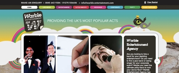 View Information about Warble Entertainment