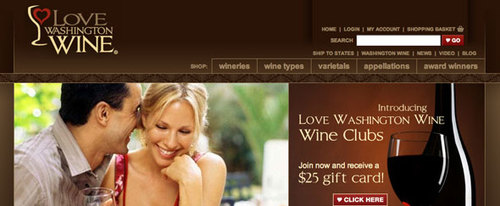 View Information about Washington Wine