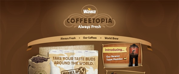 View Information about Wawa Coffeetopia
